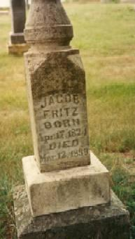 FRITZ, JACOB - Allamakee County, Iowa | JACOB FRITZ