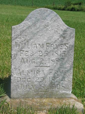 FRYES, WILLIAM  SR - Allamakee County, Iowa | WILLIAM  SR FRYES