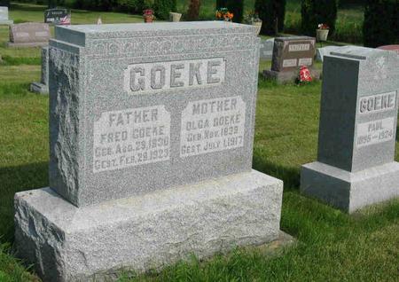 GOEKE, FRED - Allamakee County, Iowa | FRED GOEKE