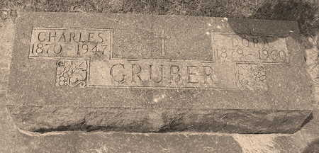 GRUBER, CHARLES - Allamakee County, Iowa | CHARLES GRUBER