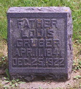 GRUBER, LOUIS - Allamakee County, Iowa | LOUIS GRUBER
