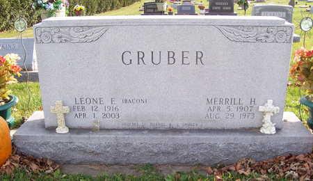 GRUBER, LEONE E. - Allamakee County, Iowa | LEONE E. GRUBER