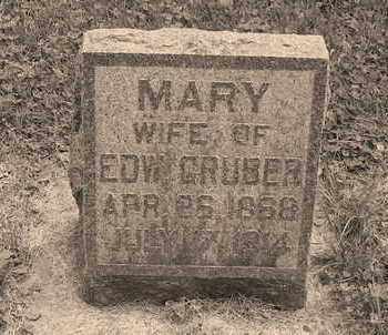 GRUBER, MARY FRANCES - Allamakee County, Iowa | MARY FRANCES GRUBER