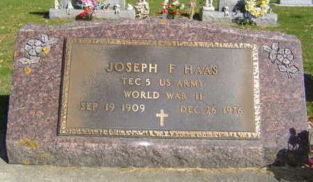 HAAS, JOSEPH F. - Allamakee County, Iowa | JOSEPH F. HAAS