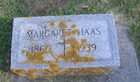 HAAS, MARGARET - Allamakee County, Iowa   MARGARET HAAS