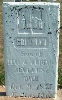 HAINES, SOLOMAN - Allamakee County, Iowa   SOLOMAN HAINES