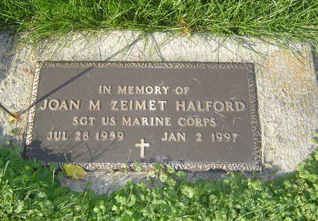 HALFORD, JOAN M. - Allamakee County, Iowa | JOAN M. HALFORD