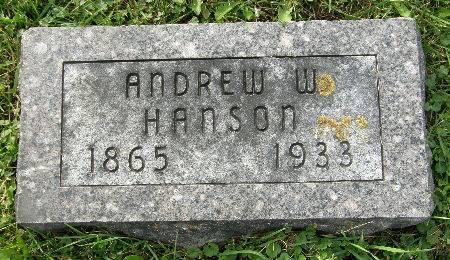 HANSON, ANDREW W. - Allamakee County, Iowa | ANDREW W. HANSON