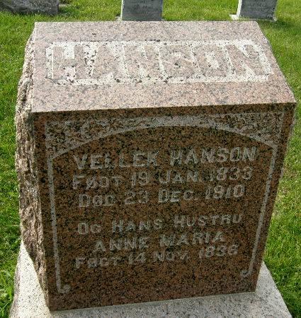HANSON, VELLEK - Allamakee County, Iowa | VELLEK HANSON