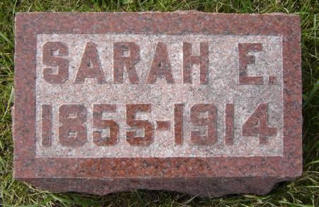 LAUGHLIN HARRIS, SARAH E. - Allamakee County, Iowa   SARAH E. LAUGHLIN HARRIS