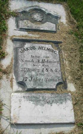 HELMING, JAKOB - Allamakee County, Iowa | JAKOB HELMING
