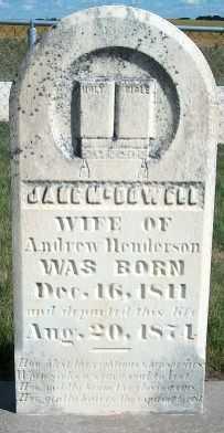 HENDERSON, JANE - Allamakee County, Iowa   JANE HENDERSON