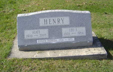 HENRY, ALICE - Allamakee County, Iowa | ALICE HENRY