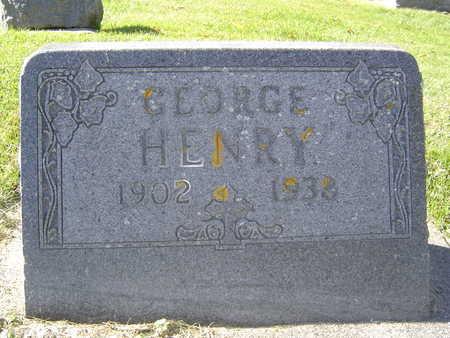 HENRY, GEORGE - Allamakee County, Iowa   GEORGE HENRY