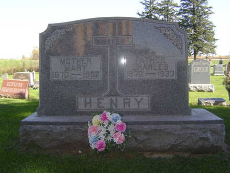 HENRY, MARY - Allamakee County, Iowa | MARY HENRY