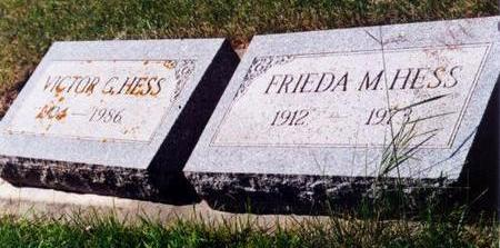 HESS, FRIEDA M. - Allamakee County, Iowa | FRIEDA M. HESS