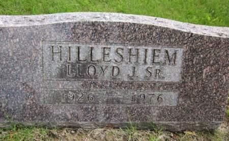 HILLESHIEM, LLOYD J. - Allamakee County, Iowa   LLOYD J. HILLESHIEM