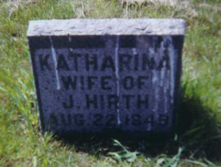 LEPPERT HIRTH, A KATHARINA - Allamakee County, Iowa | A KATHARINA LEPPERT HIRTH