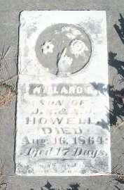 HOWELL, WILLARD G. - Allamakee County, Iowa | WILLARD G. HOWELL