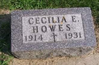 HOWES, CECILIA E. - Allamakee County, Iowa | CECILIA E. HOWES