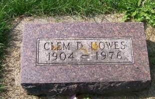 HOWES, CLEM D. - Allamakee County, Iowa | CLEM D. HOWES