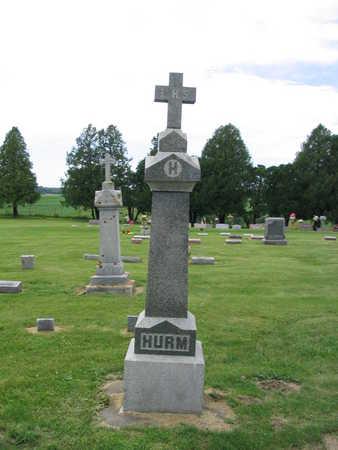 HURM, FAMILY MARKER - Allamakee County, Iowa   FAMILY MARKER HURM