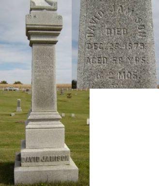 JAMISON, DAVID - Allamakee County, Iowa   DAVID JAMISON