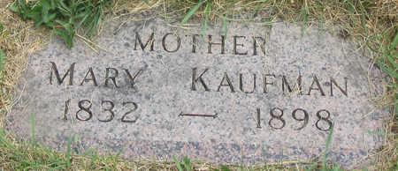 KAUFMAN, MARY - Allamakee County, Iowa | MARY KAUFMAN