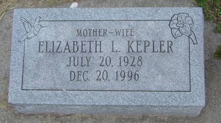 FISH KEPLER, ELIZABETH LEONA - Allamakee County, Iowa | ELIZABETH LEONA FISH KEPLER