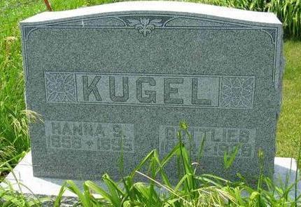 KUGEL, HANNA - Allamakee County, Iowa   HANNA KUGEL