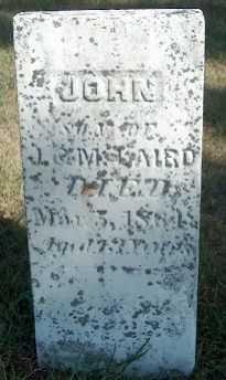 LAIRD, JOHN - Allamakee County, Iowa   JOHN LAIRD
