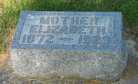 ROTH LAYER, ELIZABETH - Allamakee County, Iowa   ELIZABETH ROTH LAYER