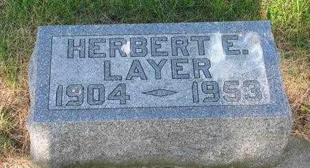 LAYER, HERBERT - Allamakee County, Iowa | HERBERT LAYER