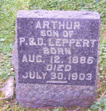 LEPPERT, ARTHUR - Allamakee County, Iowa   ARTHUR LEPPERT