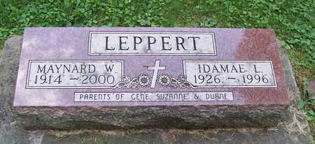 WITT LEPPERT, IDA MAE - Allamakee County, Iowa | IDA MAE WITT LEPPERT