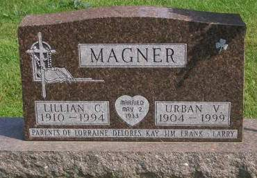 HOWES MAGNER, LILLIAN C. - Allamakee County, Iowa | LILLIAN C. HOWES MAGNER