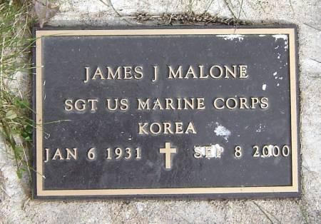 MALONE, JAMES J. - Allamakee County, Iowa | JAMES J. MALONE