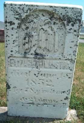 MARSTON, ELIZABETH - Allamakee County, Iowa | ELIZABETH MARSTON