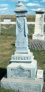 MICKEY, CATHERINE A. - Allamakee County, Iowa   CATHERINE A. MICKEY
