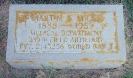 MILES, MARTIN S. - Allamakee County, Iowa | MARTIN S. MILES