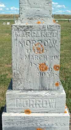 MORROW, MARGARET - Allamakee County, Iowa   MARGARET MORROW