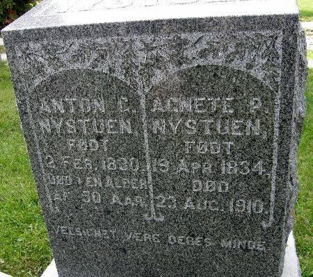 NYSTUEN, ANTON C. - Allamakee County, Iowa | ANTON C. NYSTUEN