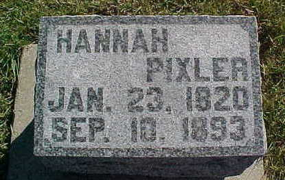 PIXLER, HANNAH - Allamakee County, Iowa | HANNAH PIXLER
