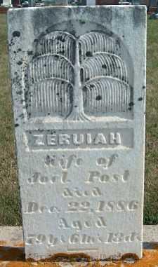 POST, ZERUIAH - Allamakee County, Iowa | ZERUIAH POST