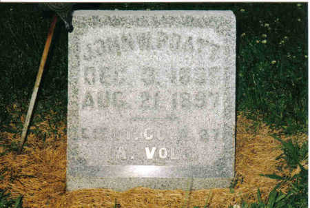 PRATT, JOHN W - Allamakee County, Iowa | JOHN W PRATT
