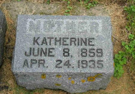 RELLIHAN, KATHERINE - Allamakee County, Iowa | KATHERINE RELLIHAN