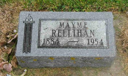 RELLIHAN, MAYME - Allamakee County, Iowa   MAYME RELLIHAN