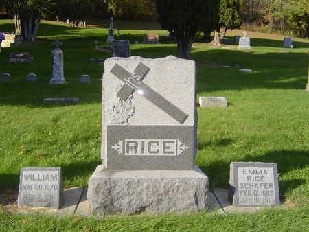 RICE, FAMILY STONE - Allamakee County, Iowa | FAMILY STONE RICE