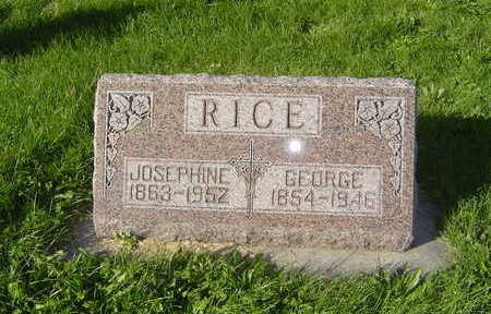 RICE, JOSEPHINE - Allamakee County, Iowa | JOSEPHINE RICE