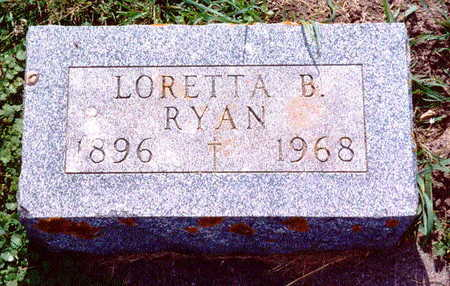 RYAN, LORETTA B. - Allamakee County, Iowa | LORETTA B. RYAN